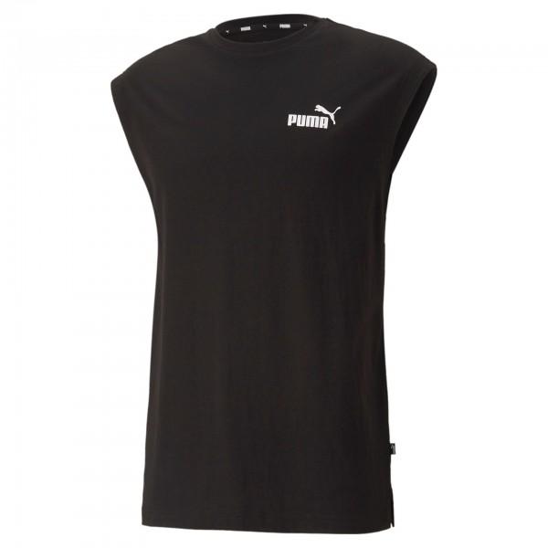 Puma ESS Sleeveless Tee Herren T-Shirt 586738 (Schwarz 01)