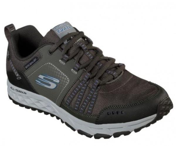 Skechers Escape Plan Herren Sneaker 51591 (Grau-PEW)
