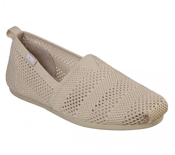 Skechers Bobs Plush - Twiggy Damen Schuhe 33406 (Beige-NAT)