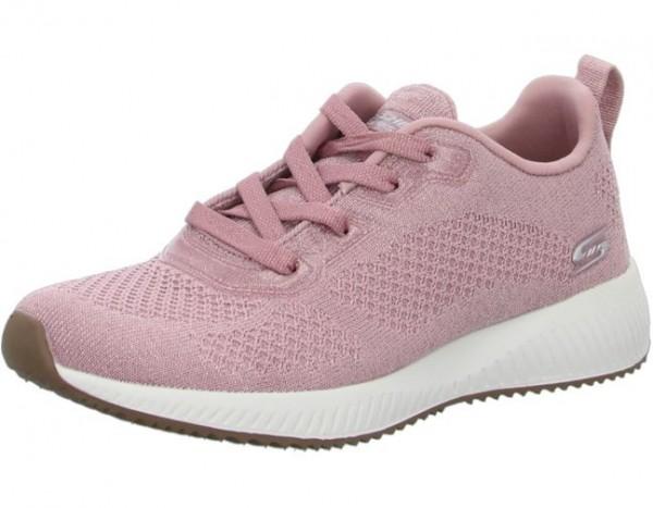Skechers Bobs Squad - Glitz Maker Damen Sneaker 117006 (Rosa-PNK)