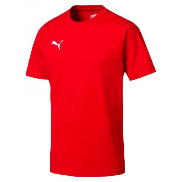 Puma LIGA Casuals Tee Herren T-Shirt 655311 (Rot 01)