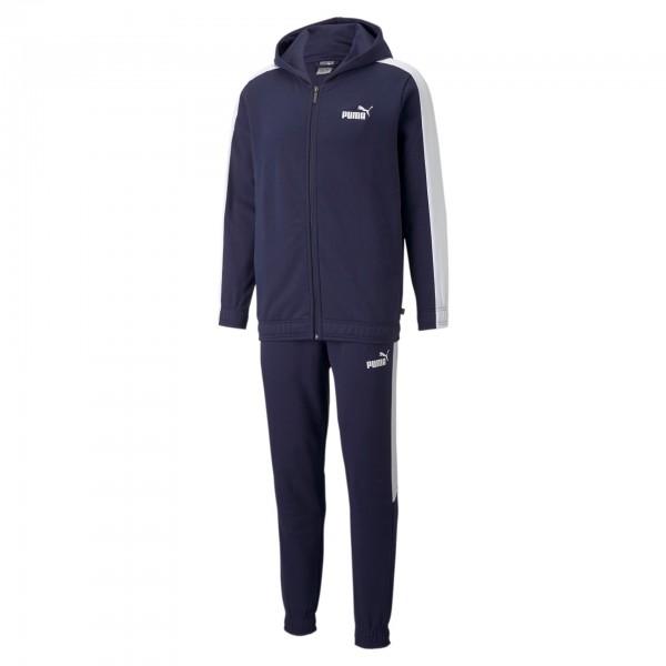 Puma Hooded Sweat Suit FL CL / Herren Jogginganzug 845847 (Blau 06)