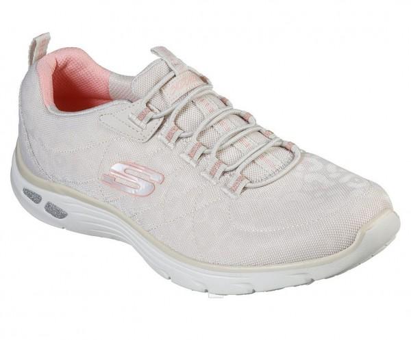 Skechers Empire D'Lux-Spotted Damen Sneaker 12825 (Beige-NAT)
