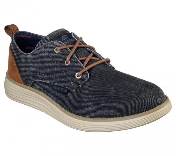 Skechers Status 2.0 - Pexton Herren Sneaker 65910 (Blau-NVY)