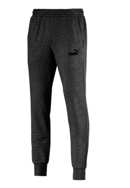 Puma ESS Logo Pants TR cl Herren Jogginghose 851754 (Grau 40)