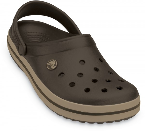 Crocs Crocband Clogs (Espresso-Khaki)