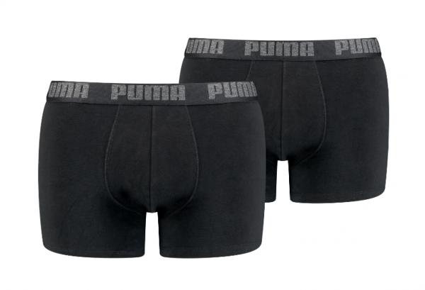 Puma 6er Pack Basic Boxer Herren Boxershorts 521015001 (Schwarz 230)