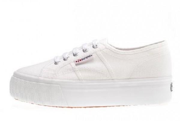 buy online 7b49a 30eea Superga 2790 Acotw Plateau Damen Sneaker (Weiß)