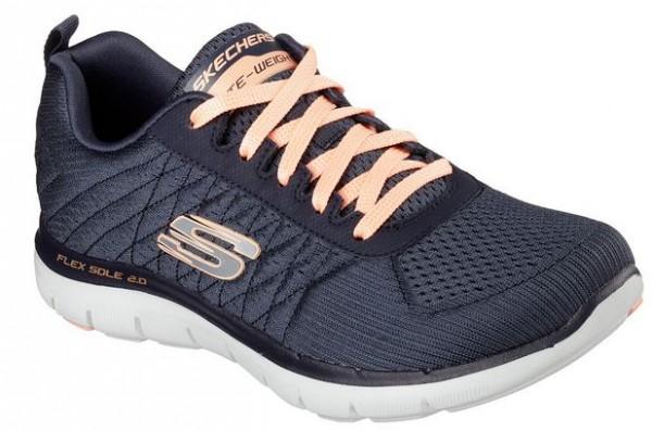 Skechers Flex Appeal 2.0 Break Free Damen Sneaker 12757 (Grau-CHAR)