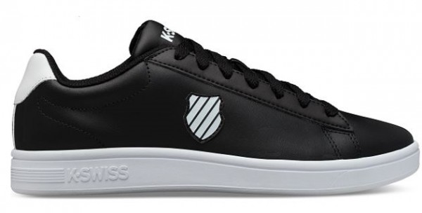 K-Swiss Court Shield Herren Sneaker 06599 (Schwarz 002)