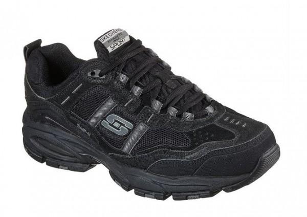Skechers Vigor 2.0 - Trait Herren Sneaker 51241 (Schwarz-BBK)