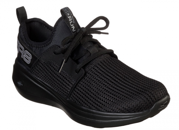 Skechers GoRun Fast - Valor Damen Sneaker (Schwarz-BBK)