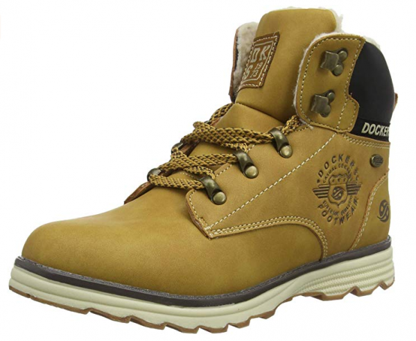 Dockers Kinder Stiefel 41TE720-630 (Braun 910)