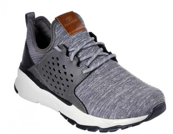 Skechers Relven – Velton Herren Sneaker (Grau-GRY)