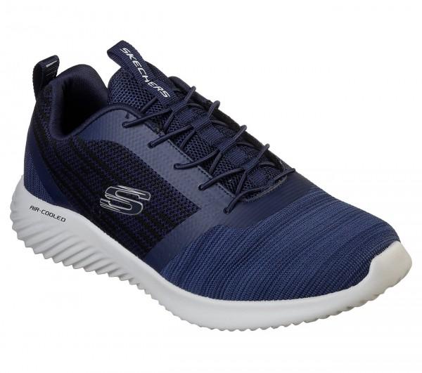 Skechers Bounder Herren Sneaker 52504 (Blau-NVY)