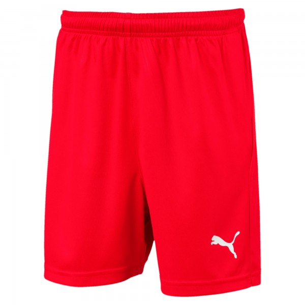 Puma LIGA Core Jr Kinder Shorts 703437 (Rot 01)