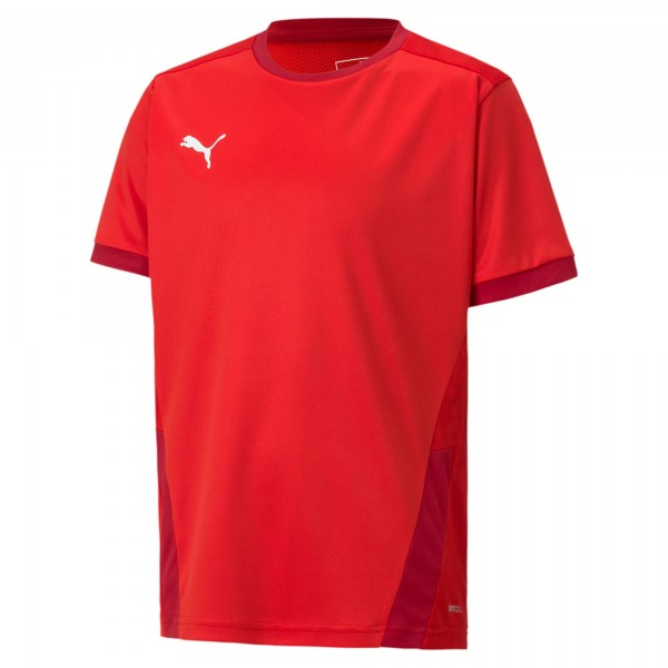 Puma TeamGOAL 23 Jr Kinder Shirt 704160 (Rot 01)