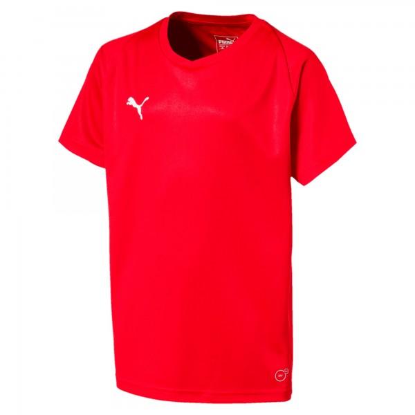 Puma LIGA Core Jr Kinder Shirt 703542 (Rot 01)
