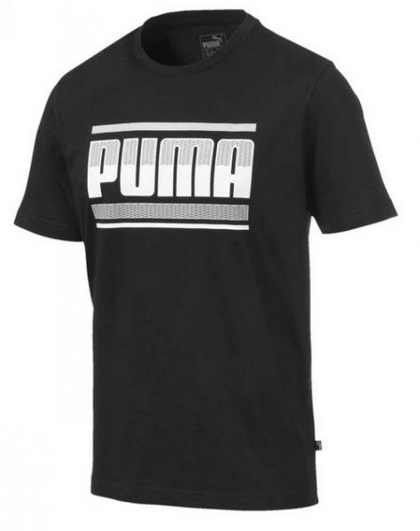 Puma Graphic Herren T-Shirt 580191 (Schwarz 01)