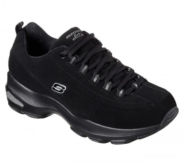 Skechers D'Lites Ultra - Reverie Damen Sneaker 12293 (Schwarz-BBK)