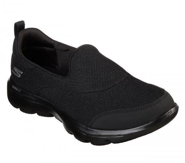 Skechers GoWalk Evolution Ultra - Rapids Damen Sneaker 15730 (Schwarz-BBK)