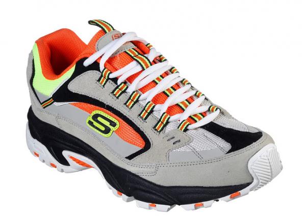 Skechers Stamina - Cutback Herren Sneaker 51286 (Grau-GYOR)