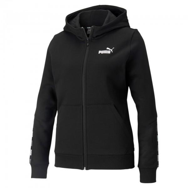 Puma Power Full-Zip Hoodie FL / Damen Jacke 589537 (Schwarz 01)