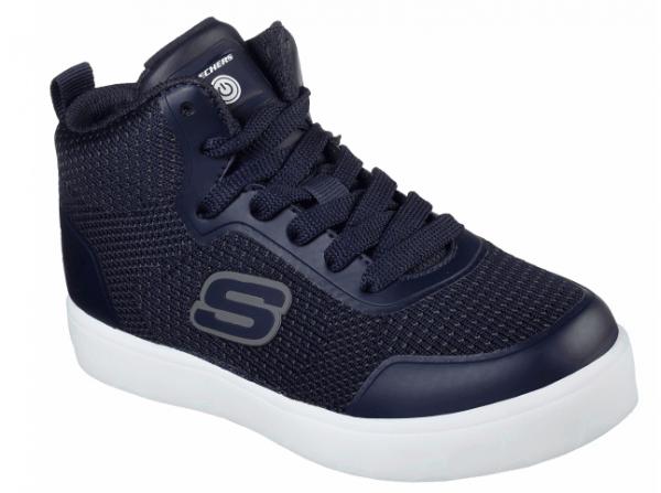 Skechers S Lights: Energy Lights - Halation Kinder Sneaker (Blau-NVY)