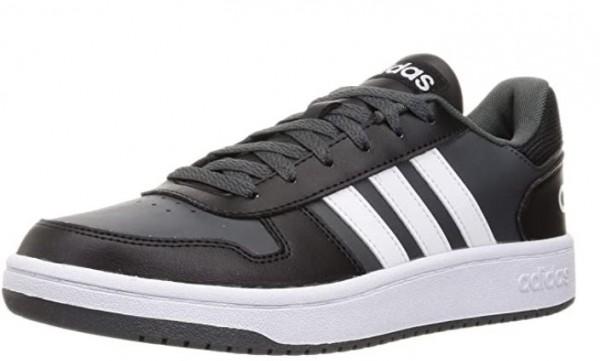 Adidas Hoops 2.0 Herren Sneaker FY8626 (Schwarz)