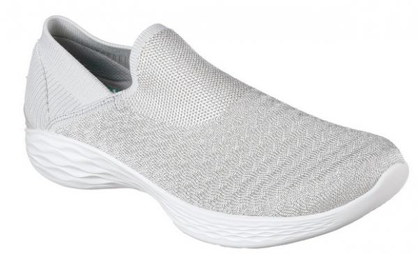 Skechers YOU - Transcend Damen Sneaker 14959 (Silber - SIL)