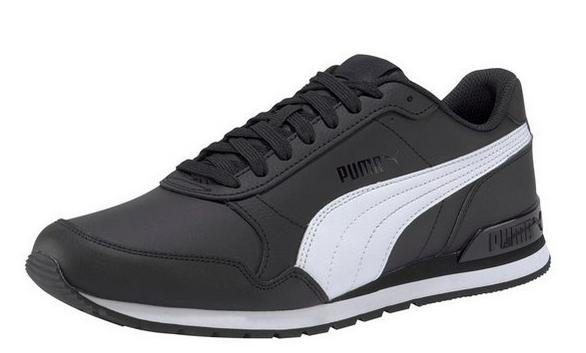 Puma ST Runner v2 Full L Herren Sneaker 365277 (Schwarz 11)