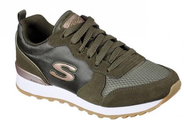 Skechers OG 85 Goldn Gurl Damen Sneaker (Grün-OLV)