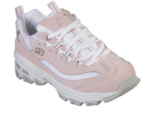 Skechers D'Lites – Biggest Fan Kinder Sneaker (Rosa-LPKW)