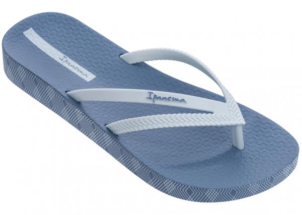 Ipanema Bossa Soft IV Fem Damen Zehentrenner (Blau 9077)