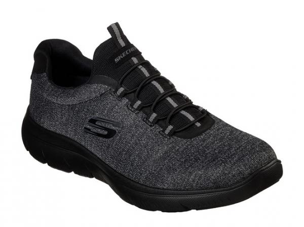 Skechers Summits - Forton Herren Sneaker 52813 (Schwarz-BBK)