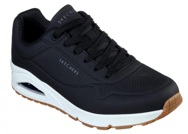 Skechers UNO-Stand On Air Herren Sneaker 52458 (Schwarz-BLK)