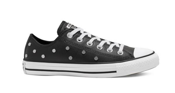 Converse Chuck Taylor All Star Studs Low Damen Sneaker 565851C (Schwarz)