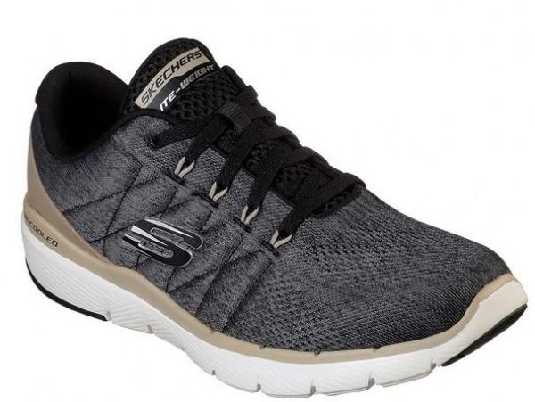 Skechers Flex Advantage 3.0 - Stally Herren Sneaker (Schwarz-BLK)