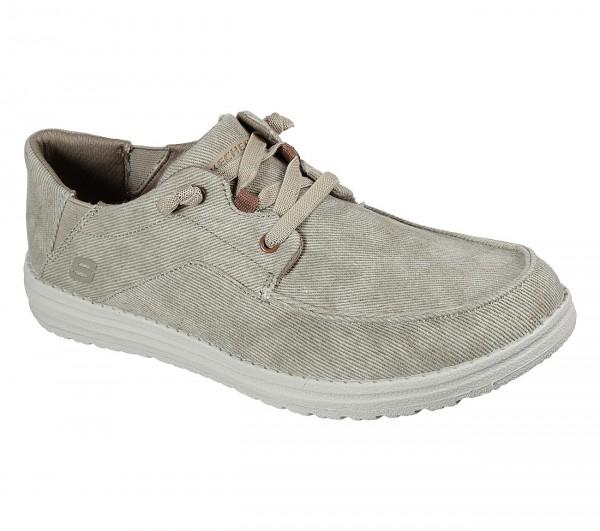 Skechers Melson - Volgo Herren Sneaker 66384 (Beige-TAN)