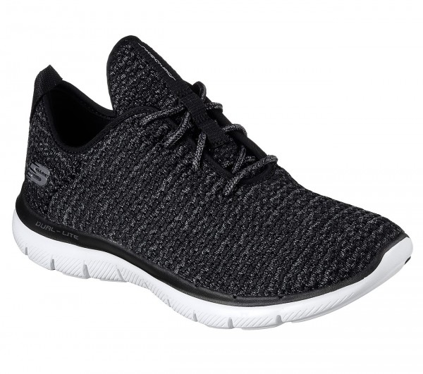 Skechers Flex Appeal 2.0 Bold Move (Schwarz-BKW)