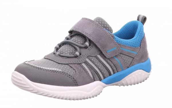 Superfit Storm Kinder Sneaker 6-06383 (grau/blau 25)