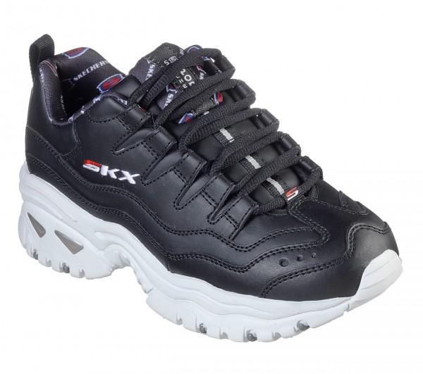 Skechers Energy - Retro Vision Damen Sneaker 13425 (Schwarz-BKW)