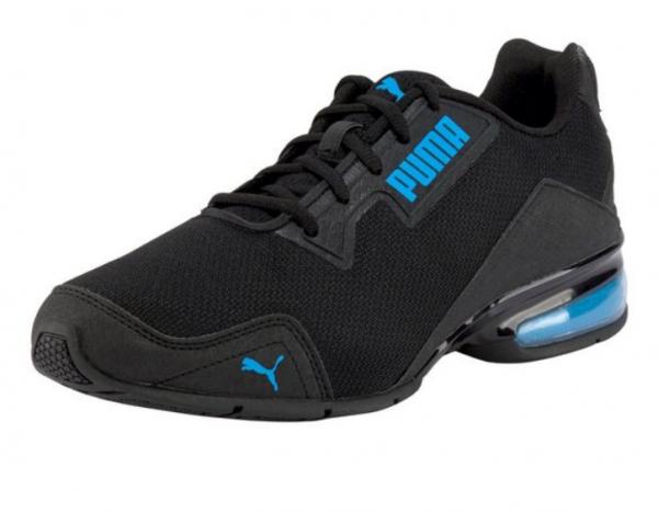 Puma Leader VT Tech Mesh Herren Sneaker 194532 (Schwarz-Blau 02)