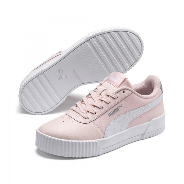 Puma Carina L Jr Kinder Sneaker 370677 (Rosa 07)