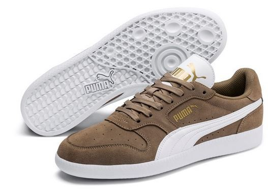Puma Icra Trainer SD (Fossil/White/Gold 41)