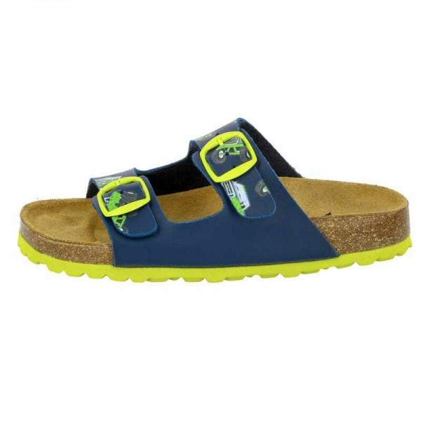 Lico Bioline Motru Kinder Pantolette 560143 (Blau 1000)