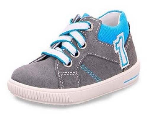 Superfit Moppy Kinder Sneaker (Hellgrau 25)