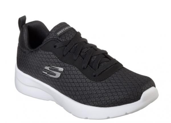 Skechers Dynamight 2.0 - Eye to Eye Damen Sneaker 12964 (Schwarz-BKW)
