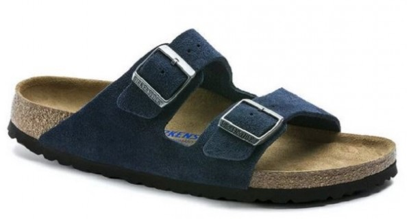 Birkenstock Arizona SFB VL Sandale schmal 1014205 (Blau)