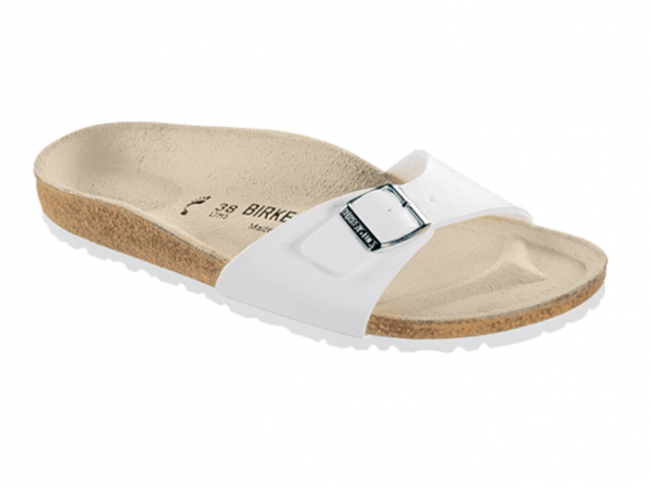 Birkenstock Madrid Damen Sandale normal 040731 (weiß)